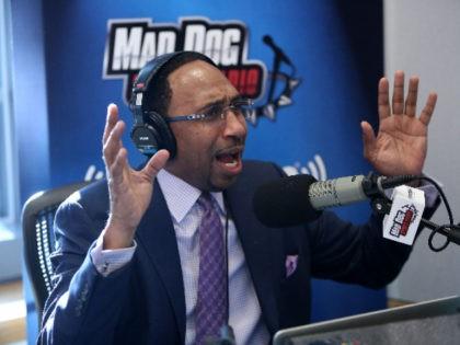 WATCH: Stephen A. Smith Fires Back at Kaepernick Critics: 'I'm a Black Man You Idiots!'