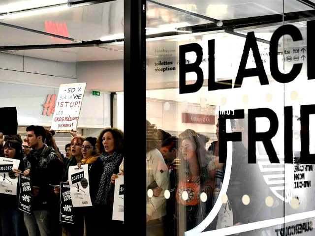 Black Friday Climate Protests