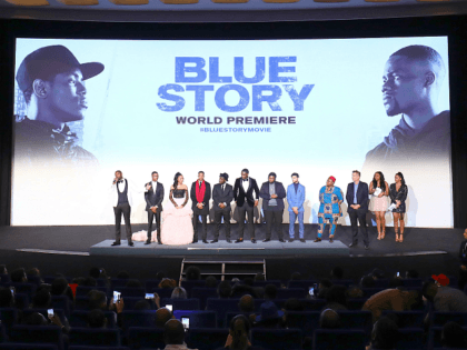 "LONDON, ENGLAND - NOVEMBER 14: The cast and crew attend the World Premiere of ""Blue Story"" at Curzon Cinema Mayfair on November 14, 2019 in London, England. (Photo by Tim P. Whitby/Getty Images for Paramount)"
