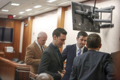 HOUSTON, TX - FEBRUARY 04: David Daleiden, a defendant in an indictment stemming from a Planned Parenthood video he helped produce, appears in court at the Harris County Courthouse after surrendering to authorities on February 4, 2016 in Houston, Texas. Daleiden is facing an indictment on a misdemeanor count of …