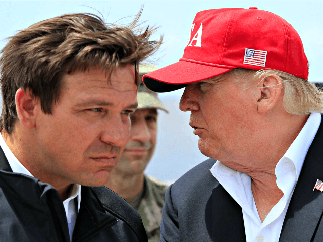 DeSantis and Trump Getty Images