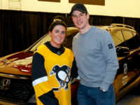 """Sidney Crosby got me a car!"" Malizio exclaimed to a few media afterward. ""It's been the best day ever. I can't even put into words how grateful I am, and how blessed I feel for what he's done today."""