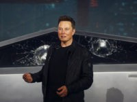 'Oh My F*cking God': Tesla 'Cybertruck' Fractures During Demo