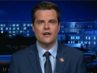 Gaetz: Bribery Charge Against Trump Won't Stick — 'It Fails to Meet an Essential Element'