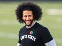 Colin Kaepernick Skips NFL Organized Workout, Wears Shirt Likening Himself to a Slave