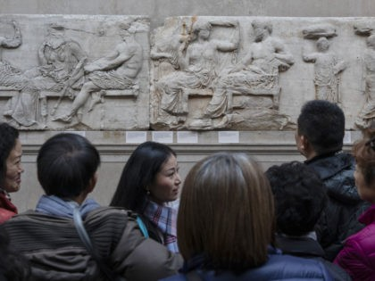 LONDON, ENGLAND - NOVEMBER 22: Sections of the Parthenon Marbles also known as the Elgin Marbles are displayed at The British Museum on November 22, 2018 in London, England. (Photo by Dan Kitwood/Getty Images)