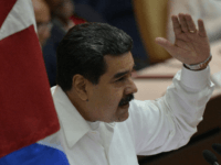 Venezuelan President Nicolas Maduro delivers a speech during the commemoration of the 14th anniversary of Bolivarian Alliance for the Peoples of Our America Peoples' Trade Treaty (ALBA-TCP) during the XVI ALBA-TCP Summit, at the Convention Palace in Havana, on December 14, 2018. - ALBA countries are seeking to strengthen their …