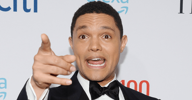 Triggered Trevor Noah: Sean Spicer Sparked 'Full-On Civil War' by Promoting DWTS Run on Breitbart
