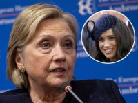Failed 2016 presidential condidate Hillary Clinton would like nothing better than to hug Meghan Markle,the Duchess of Sussex and comfort her over the way the Royal has featured in the U.K. media.