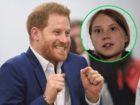Prince Harry and Greta Thunberg