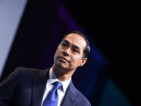 Democratic presidential candidate former HUD Secretary Julian Castro speaks during the 2019 J Street National Conference at the Walter E. Washington Convention Center in Washington, DC on October 28, 2019. (Photo by MANDEL NGAN / AFP) (Photo by MANDEL NGAN/AFP via Getty Images)