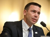 Acting Homeland Security Secretary Kevin McAleenan testifies before the House Homeland Security Committee on global terrorism and threats to the homeland in the Cannon House Office Building on Capitol Hill in Washington, DC on October 30, 2019. (Photo by MANDEL NGAN / AFP) (Photo by MANDEL NGAN/AFP via Getty Images)
