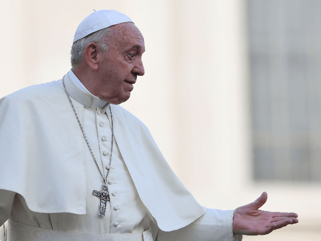 Pope Francis Urges Passage of Civil Union Laws for Homosexuals
