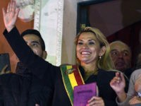 Giant Bible in Hand, Conservative Senator Becomes President of Bolivia