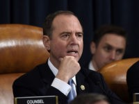 Democratic Chairman of the House Permanent Select Committee on Intelligence Adam Schiff speaks before the House Permanent Select Committee on Intelligence hearing on the impeachment inquiry into US President Donald J. Trump on Capitol Hill in Washington, on November 13,2019. - Donald Trump faces the most perilous challenge of his …
