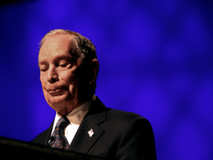 Michael Bloomberg speaks at the Christian Cultural Center on November 17, 2019 in the Brooklyn borough of New York City. Reports indicate Bloomberg, the former New York mayor, is considering entering the crowded Democratic presidential primary race. (Photo by Yana Paskova/Getty Images)