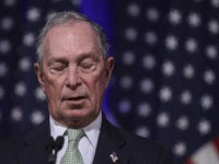 NORFOLK, VA - NOVEMBER 25: Newly announced Democratic presidential candidate, former New York Mayor Michael Bloomberg speaks during a press conference to discuss his presidential run on November 25, 2019 in Norfolk, Virginia. The 77-year old Bloomberg joins an already crowded Democratic field and is presenting himself as a moderate …
