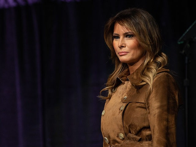 Melania Trump loudly booed at opioid awareness youth summit