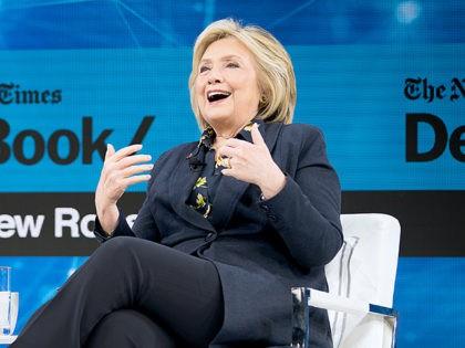 Hillary Clinton Celebrates Impeachment Hearings