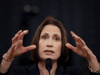 Fiona Hill, the National Security Council's former senior director for Europe and Russia testifies before the House Intelligence Committee in the Longworth House Office Building on Capitol Hill November 21, 2019 in Washington, DC. The committee heard testimony during the fifth day of open hearings in the impeachment inquiry against …