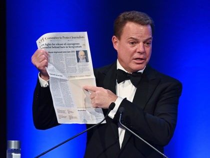 NEW YORK, NEW YORK - NOVEMBER 21: Shepard Smith hosts the Committee to Protect Journalists' 29th Annual International Press Freedom Awards on November 21, 2019 in New York City. (Photo by Dia Dipasupil/Getty Images)