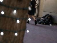 A homeless woman sleeps on the sidewalk on November 25, 2019 in San Francisco, California. The Trump administration could be preparing to replace recently dismissed executive director of the U.S. Interagency Council on Homelessness Matthew Doherty and deliver a new agenda to combat homelessness in cities like San Francisco and …