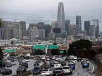 SAN FRANCISCO, CALIFORNIA - NOVEMBER 27: Traffic moves along U.S. Highway 101 towards downtown San Francisco on November 27, 2019 in San Francisco, California. Nearly 50 million people are expected to hit the roadways this Thanksgiving holiday season, the highest number since 2005 and a record 31.6 million travelers are …