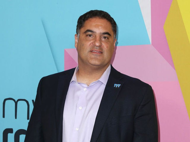 BEVERLY HILLS, CA - SEPTEMBER 26: Cenk Uygur at the 2017 Streamy Awards at The Beverly Hilton Hotel on September 26, 2017 in Beverly Hills, California. (Photo by Joe Scarnici/Getty Images)
