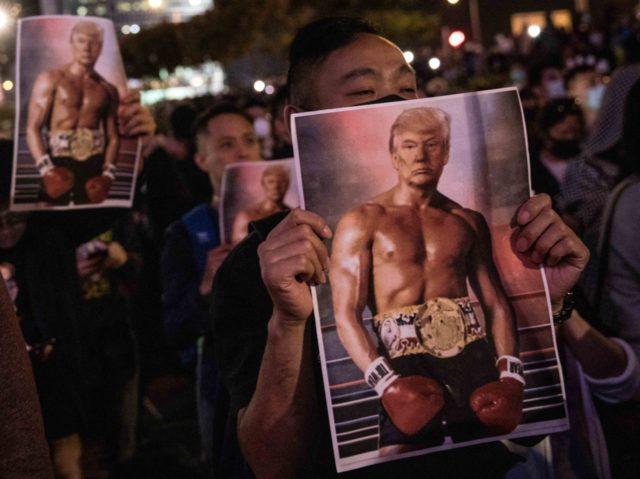Hong Kong Rocky Balboa (Chris McGrath / Getty)