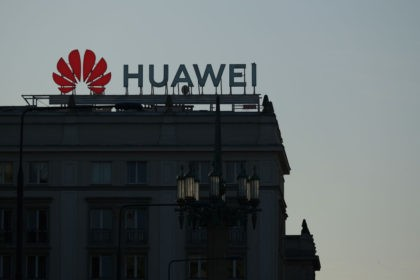 WARSAW, POLAND - OCTOBER 11: A sign advertising Chinese telecoms equipment manufacturer Huawei stands on an apartment building on October 11, 2019 in Warsaw, Poland. Some countries in Europe have already installed Huawei components into their upcoming 5G mobile data systems. European authorities are putting Huawei technology under scrutiny following …