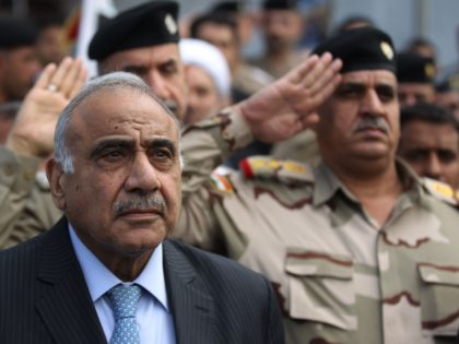 Iraqi Prime Minister Adel Abdul-Madhi announced his resignation on Friday in an address broadcast on state television.