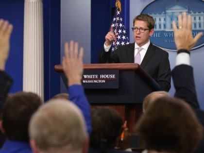 Jay Carney (Chip Somodevilla / Getty)