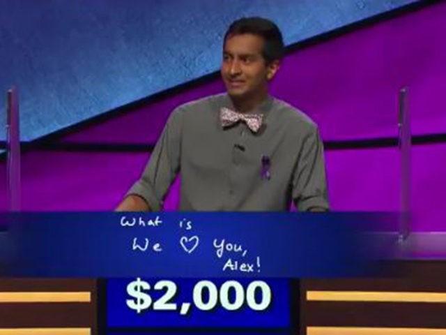 Jeopardy message