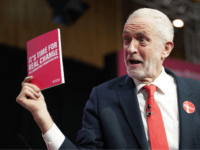 BIRMINGHAM, ENGLAND - NOVEMBER 21: Labour leader Jeremy Corbyn poses during the launch of the party's election manifesto at Birmingham City University on November 21, 2019 in Birmingham, England. (Photo by Christopher Furlong/Getty Images)