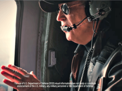 Moment: Joe Biden in a Helicopter