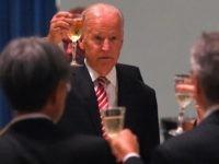 Joe Biden toast (Tracey Nearmy - Pool/Getty Images)