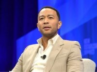 BEVERLY HILLS, CALIFORNIA - OCTOBER 22: John Legend speaks onstage during 'Legend Has It: Activism and Influence in the Age of Trump' at Vanity Fair's 6th Annual New Establishment Summit at Wallis Annenberg Center for the Performing Arts on October 22, 2019 in Beverly Hills, California. (Photo by Matt Winkelmeyer/Getty …