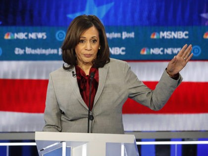 Fact Check: Kamala Harris Falsely Claims Women 'Not Paid Equal For Equal Work'