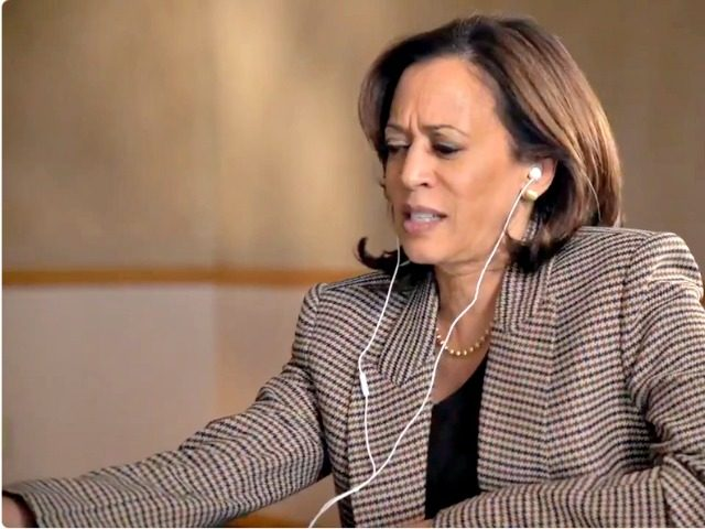 Kamala Harris Grimacing
