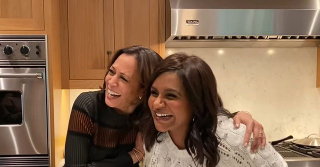 VIDEO: Kamala Harris Tries to Cook Her Way to the Top with Mindy Kaling
