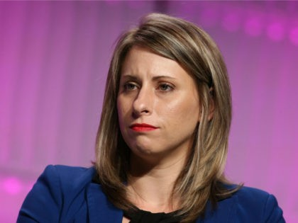 Katie Hill, at TheWrap's Power Women's Summit_Inside at the InterContinental Hotel in Los Angeles, California on November 2, 2018. Credit: Faye Sadou/MediaPunch /IPX