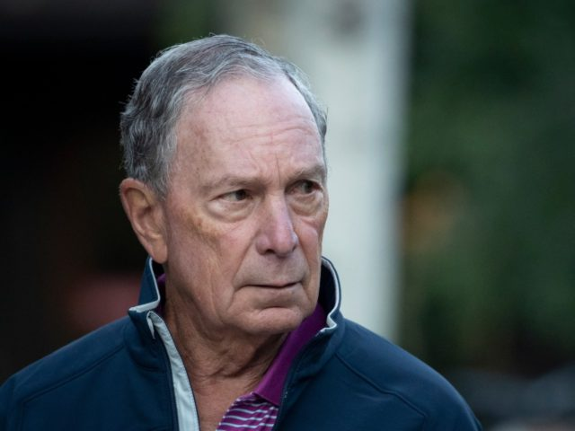 SUN VALLEY, ID - JULY 12: Former New York City mayor Michael Bloomberg attends the annual Allen & Company Sun Valley Conference, July 12, 2019 in Sun Valley, Idaho. Every July, some of the world's most wealthy and powerful businesspeople from the media, finance, and technology spheres converge at the …