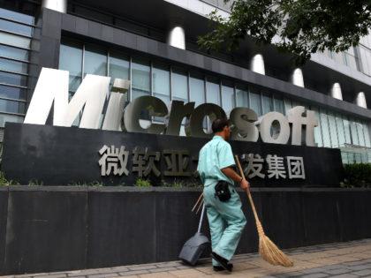 Microsoft HQ in China