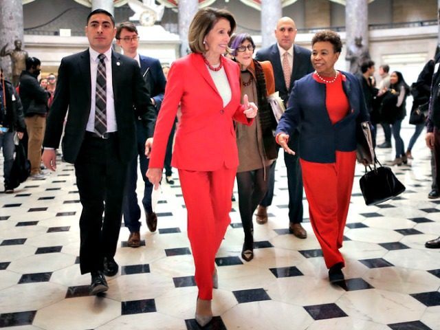 Nancy Pelosi in Heels