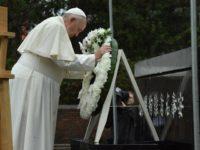 Pope Francis at Nagasaki memorial