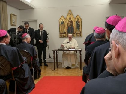 Pope with Bishops in Tokyo, Japan