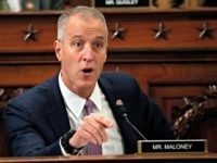 Rep. Sean Patrick Maloney, D-NY, speaks during the House Permanent Select Committee on Intelligence public hearing on the impeachment inquiry into US President Donald J. Trump, on Capitol Hill in Washington,DC on November 19, 2019. - President Donald Trump faces more potentially damning testimony in the Ukraine scandal as a …