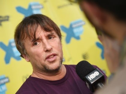 "AUSTIN, TX - MARCH 16: Executive producer Richard Linklater is interviewed during the ""I Dream Too Much"" premiere during the 2015 SXSW Music, Film + Interactive Festivalat Topfer Theatre at ZACH on March 16, 2015 in Austin, Texas. (Photo by Michael Loccisano/Getty Images for SXSW)"