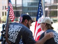 Gun owners and second amendment advocates gather at the Ohio State House to protest gun control legislation on September 14, 2019 in Columbus, Ohio. The group stood against red flag laws proposed by Ohio Governor Mike DeWine and national politicians in the wake of a wave of mass shootings throughout …