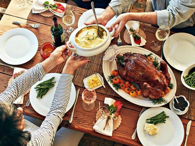 Thanksgiving at Grandma's